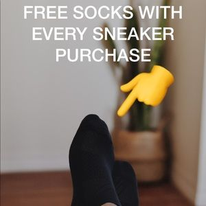 ***FREE SOCKS WITH EVERY SNEAKER PURCHASE***